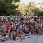 Tabără de vară pentru micii creştini, Asprovalta, Grecia, 2013