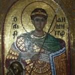 Periplu în biserica Sfântului Dimitrie din Tesalonic