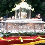[VIDEO] Procesiune cu moaştele Sfântului Dimitrie în Tesalonic - 25 Octombrie 2014