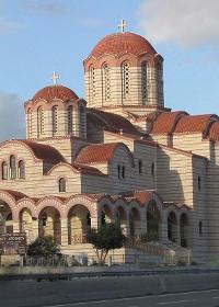 Sfințirea primei biserici închinate Sfântului Paisie Aghioritul