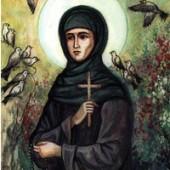 Din cântările Sfintei Teodora de la Sihla