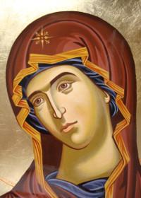 Maica Domnului a tămâiat în Mănăstirea Lavra