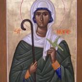 Sfânta Bridgit, o vindecare și o întâlnire față în față cu diavolul