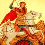 """""""Atanasie (vrăjitorul), alergînd, a căzut la picioarele Sfîntului Gheorghe..."""""""