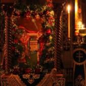 """(Galerie FOTO) - Hramul Chiliei """"Buna Vestire"""" de la schitul Lacu din Athos"""