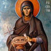 O mamă continuă alăptarea și creșterea copilului ei prin minunea Sfintei Paraskevi