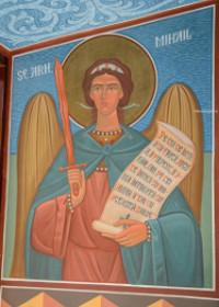 Sfântul Arhanghel Mihail i se arată unui tată care cerea vindecarea copilului său