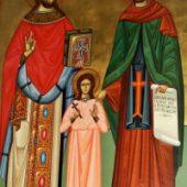 Sfinții Rafail, Nicolae și Irina au vindecat tumora unei femei care li s-a rugat