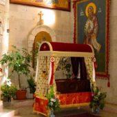Sfântul Filumen a fost văzut de medici într-un spital în Anglia, vizitând o bolnavă