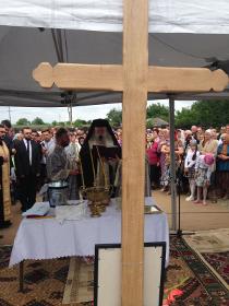O nouă biserică pentru Sfântul Paisie Aghioritul la Podu-Iloaiei